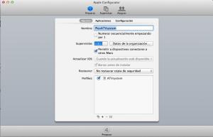 Preparando Perfil para AppleTv